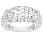 Judith Ripka Sterling 1.95 cttw Diamonique Ring - J327385
