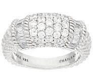 Judith Ripka Sterling 1.95 cttw Diamonique Ring - J327385