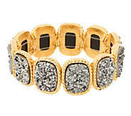 As Is Joan Rivers Look of Drusy Stretch Bracelet - J333085