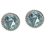 Judith Ripka Sterling Sky Blue Topaz Stud Earrings - J337785