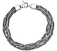 Sterling Mesh Link 7-1/2 Bracelet - J341085