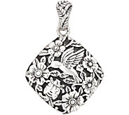 JAI Sterling Silver Garden Party Enhancer, 15.2g - J354085