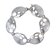 Novica Artisan Crafted Sterling Urban Nymph Link Bracelet - J109386