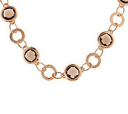 Bronze 18 19.50 ct tw Quartz Necklace by Bronzo Italia - J273086
