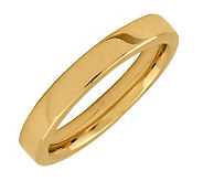 Simply Stacks Sterling 18K YellowGold-Plated 3.25mm SmoothRing - J298086