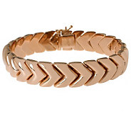 Bronzo Italia Polished 8 Arrow Design Bracelet - J313686