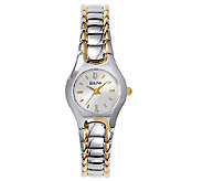 Bulova Ladies Two-Tone Stainless Steel BraceletWatch - J316386