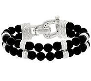 Judith Ripka Sterling_Small Gemstone_Bead Bracelet - J321486