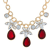 Susan Graver Drop Statement Necklace - J326986