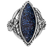 Carolyn Pollack Sterling Marquise Drusy Ring - J381286