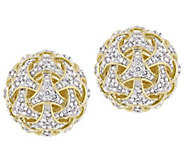 Affinity 14K 4/10 cttw Diamond Ball Stud Earrings - J383686