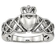 Steel by Design Claddagh Ring - J383786