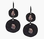 As Is Wildlife by Heidi Klum Organic Disc Drop Earrings - J276987