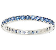 0.75 ct tw Colors of Sapphire Eternity Band Ring, 14K Gold - J284987