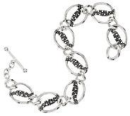 Michael Dawkins Starry Night Sterling Small Link Bracelet - J295287
