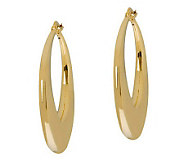 Arte dOro Round Graduated Hoop Earrings, 18K Gold - J305587