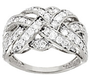 Braid Design Diamond Ring, 14K Gold, 1.00 cttw, by Affinity - J321387