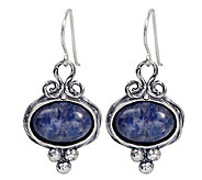 Or Paz Sterling Sodalite Cabochon Dangle Earrings - J338287