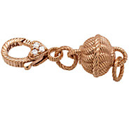 Judith Ripka Sterling & 14K Clad Magnetic Jewelry Clasp - J339987