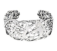 Carolyn Pollack Sterling Signature Limited Edition Cuff - J341487