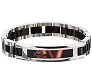 Star Wars Stainless Kylo Ren Mens 8-1/2 ID Bracelet - J342787