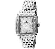 Peugeot Womens Silvertone MOP-Dial Bracelet Watch - J344587