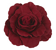 As Is Joan Rivers Signature Velvet Flower Pin - J347987