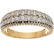 Milestone Diamond Band Ring, 14K, 1.00 cttw, by Affinity - J348087