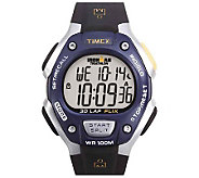 Timex Mens 30-Lap Ironman Resin Strap Watch - J108988