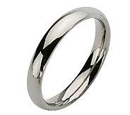 Titanium 4mm Polished Ring - J109988