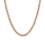 Bronze 16 Polished Confetti Dangle Necklace by Bronzo Italia - J293588