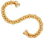Oro Nuovo 7-1/4 Double Rolo Link Bracelet 14K - J319388