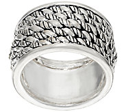 JAI Sterling Silver Hill Tribe Band Ring - J326488