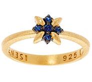 As Is Genesi 18K Clad Sapphire Star Stack Ring - J346188