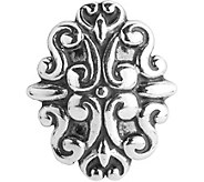 Carolyn Pollack Sterling Scrolls Magnetic Insert - J380288