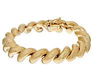 14K Gold Polished San Marco Bracelet 14.1g - 16.0g - J52688