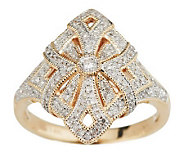 Estate Style Diamond Ring, 14K Gold, 1/3 cttw by Affinity - J284089