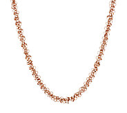 Bronze 18 Polished Confetti Dangle Necklace by Bronzo Italia - J293589