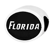 Sterling Silver University of Florida Bead - J300789