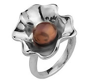 Hagit Gorali Cultured Freshwater Pearl Ruffle Ring, Sterling - J305489