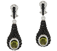 Judith Ripka Sterling & 3.20 ct tw Gemstone Earrings - J320989