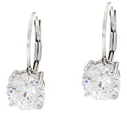 Diamonique 3.00 cttw Leverback Earrings, Sterling - J331489