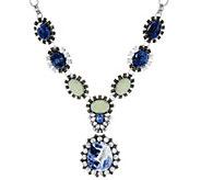 As Is Joan Rivers Gemstone 18-1/2 Pendant Necklace - J333289