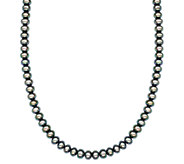 Honora Sterling 7.0mm - 8.0mm Cultured Pearl 18 Necklace - J336689