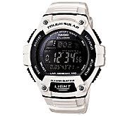 Casio Mens White Tough Solar Illuminator SportWatch - J338589
