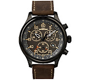 Timex Mens Expedition Field Chronograph SportWatch - J339689