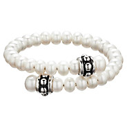 Honora Girls Cultured Freshwater Pearl Coil Cuff Bracelet - J339889