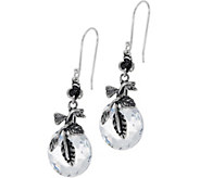 Sterling Silver 3.40 cttw Crystal Quartz Earrings by Or Paz - J347089