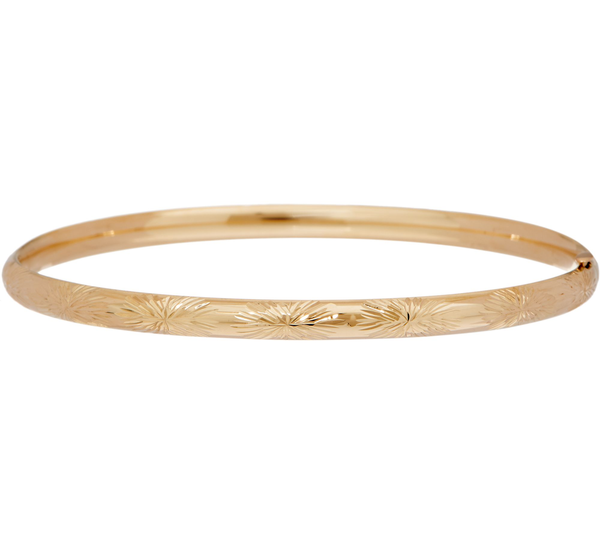 polished yellow dp solid jewelry gold com bangle bangles amazon bracelet