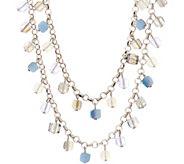 Joan Rivers Cube Bead 42 Necklace w/ 3L extender - J353589
